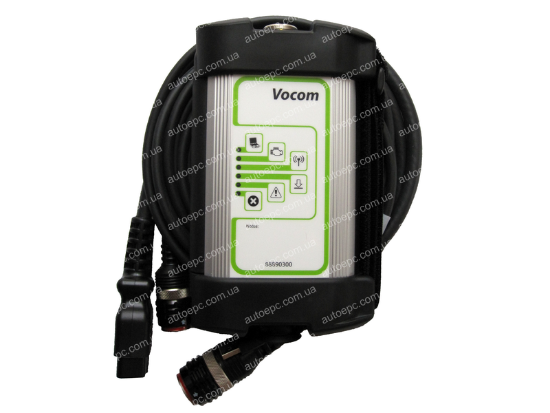<b>VOLVO DIAGNOSTIC INTERFACE (88890300) / VOCOM ORIGINAL</b><br>The new Volvo diagnostic interface 88890300, cables, PTT