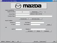 <b>Mazda General [01/2017]</b><br>Spare parts for Mazda vehicles for general market
