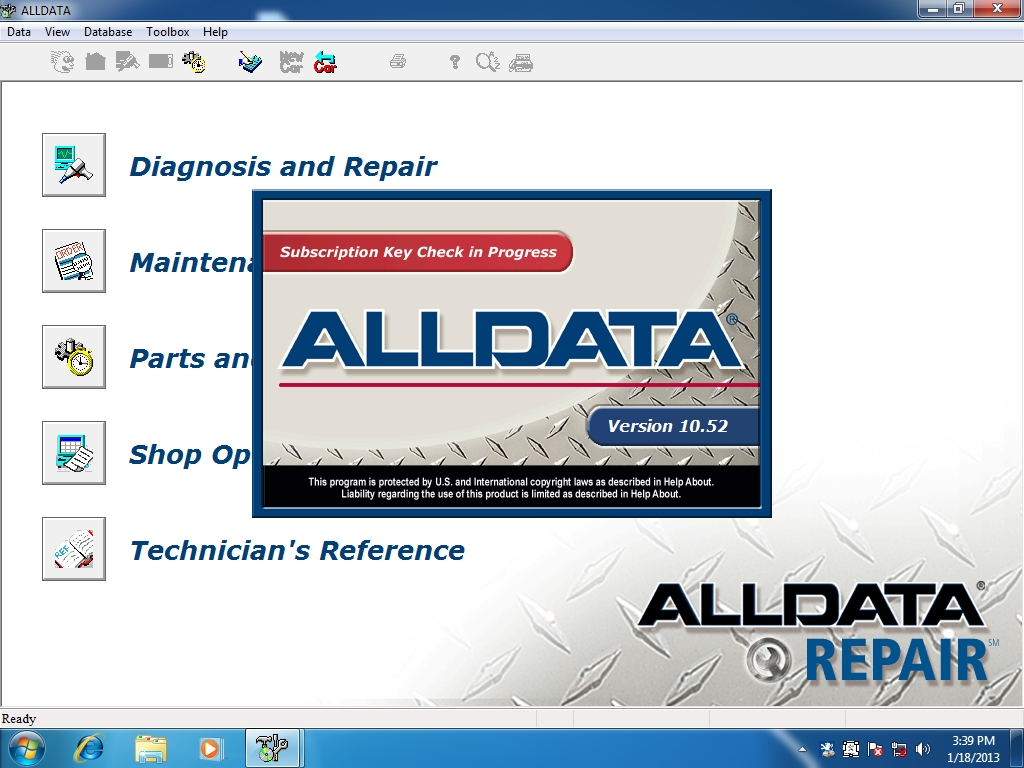 <b>ALLDATA v10.52: <font color=red>complete set on external HDD</font></b><br>Alldata contains specifications, service and repair information, etc. for all US market vehicles, HDD is included