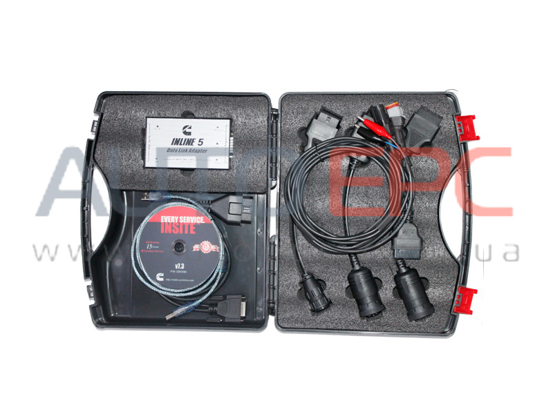 <b>Cummins INLINE 6 Datalink Adapter / Kit [GENUINE]</b><br>Diagnostic adpater, cables, software