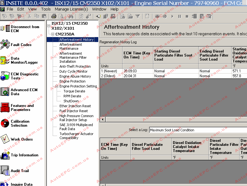 <b>Cummins Insite 8.0.0 <font color=red>NEW!</font></b><br>Diagnostic software for Cummins engines and ECM units