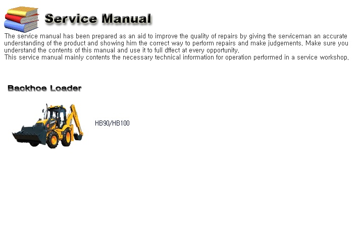 <b>Hyundai Industrial Machines Service Manuals 2020</b><br>Service manual, wiring and hydraulic diagrams