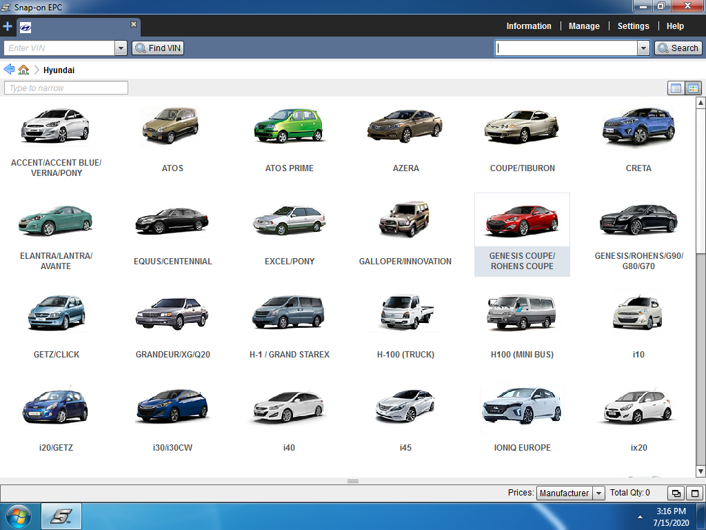 <b>HYUNDAI WORLDWIDE SNAP-ON [05/2020]</b><br>SnapOn, full parts catalog, prices and sales code