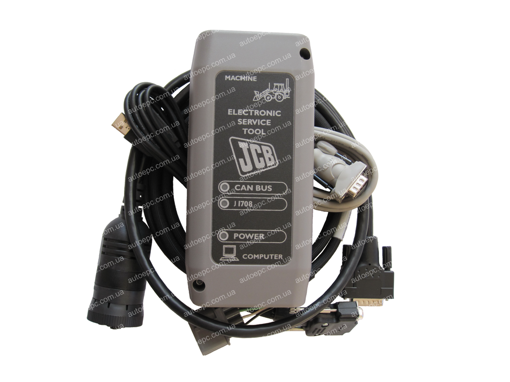 <b>JCB Electronic Service Tool</b><br>Diagnostic communication adapter for JCB equipment