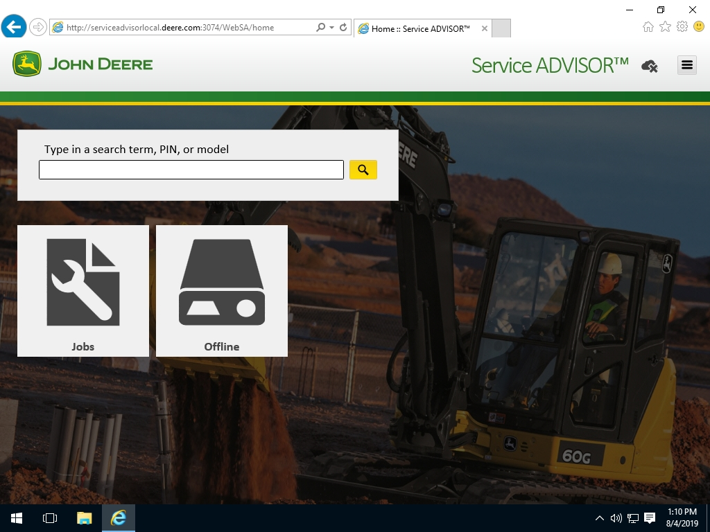 <b>John Deere Service Advisor 5.3 - AG & TU Agricultural and Turf ENGLISH [05/2020]</b><br>Service and repair information, wiring diagrams, diagnostic software