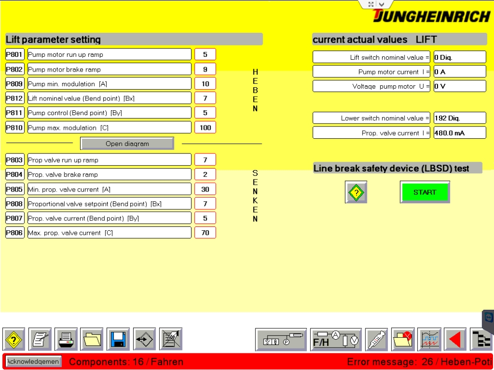 <b>Jungheinrich JUDIT-4 - Diagnostic software (v4.34)</b><br>JETI, Jungheinrich Judit4 diagnostic software