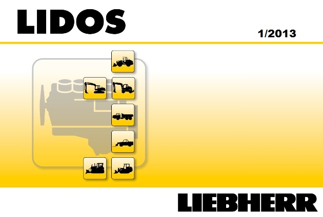 <b>Liebherr 2019 Parts Catalog & Service Information</b><br>Lidos, electronic parts catalog for Liebherr machines and service information system