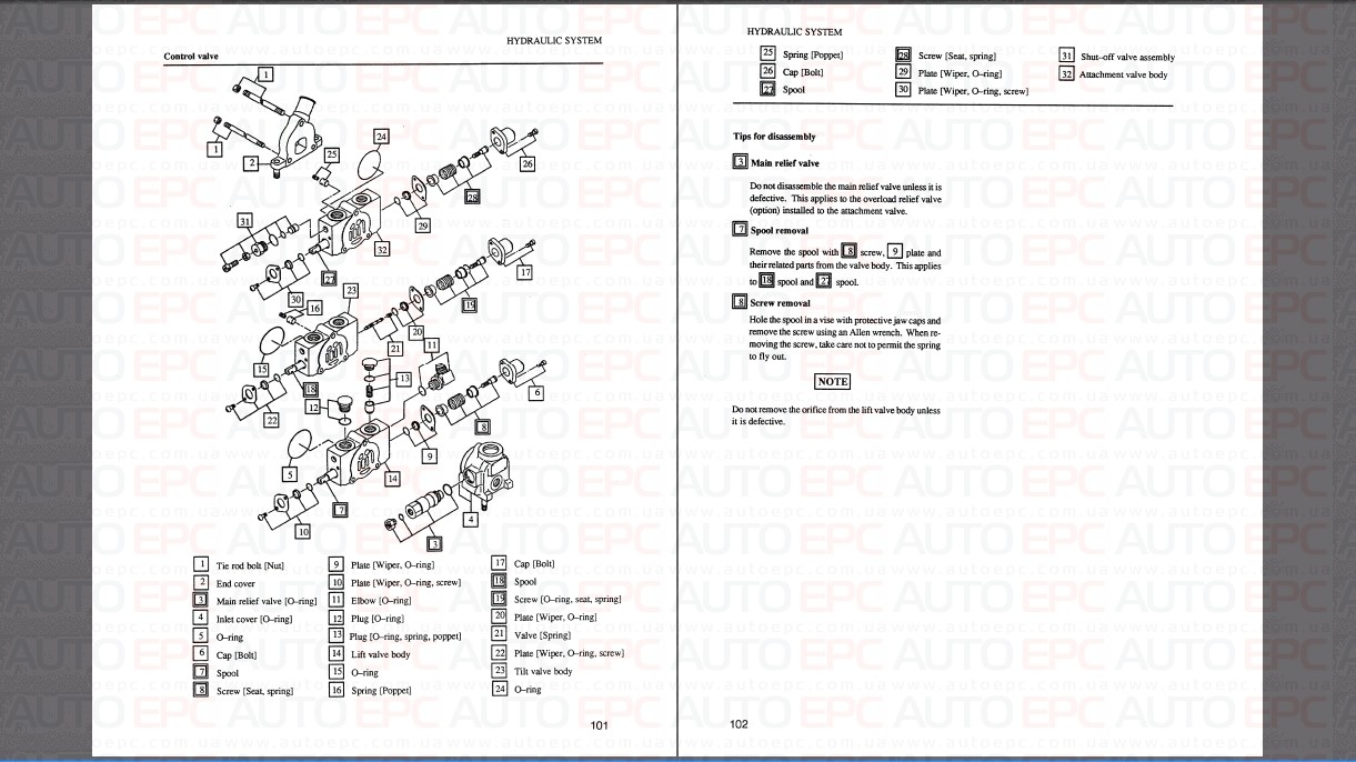 <b>Mitsubishi Forklift Trucks MCFE [01/2018]</b><br>spare part catalogue and service manuals for Mitsubishi Fork Lift