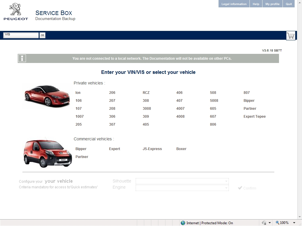 <b>Peugeot Service Box 2014</b><br>Parts catalogue, service manuals and wiring diagrams