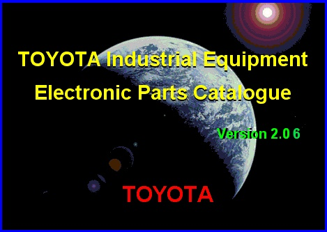 <b>Toyota Industrial Equipment v2.23 [06/2019]</b><br>catalogue of details and accessories for the Toyota industrial equipment