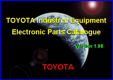 <b>Toyota Industrial Equipment v1.98 [05/2016]</b><br>catalogue of details and accessories for the Toyota industrial equipment