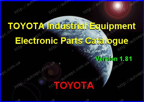 <b>Toyota Industrial Equipment v1.86</b><br>catalogue of details and accessories for the Toyota industrial equipment