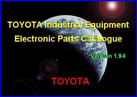 <b>Toyota Industrial Equipment v1.94 [09/2015]</b><br>catalogue of details and accessories for the Toyota industrial equipment